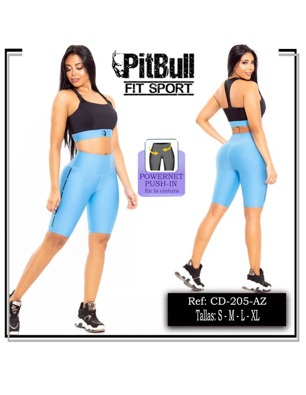 conjunto deportivo pitbull azul cd205